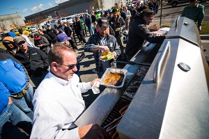 Meridian's spring 2016 customer appreciation BBQ was a big success.