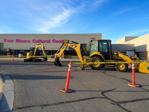 Four Rivers Cultural Center in Ontario, Oregon hosted a Western States equipment rodeo.
