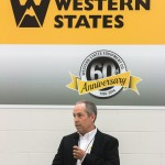 CEO Tom Terteling thanks the builders, customers and employees for making the new facility a reality.