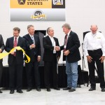 The ribbon is severed, making the new Pocatello facility official.