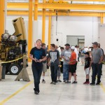 The size of the facility and the equipment was a thing of amazement to many guests.