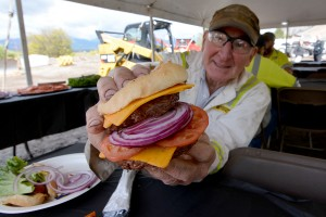 This is how Jackson makes their hamburgers.