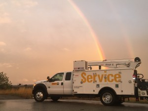Del Armstrong, Field Technician, took this photo while working in Post Falls, Idaho.